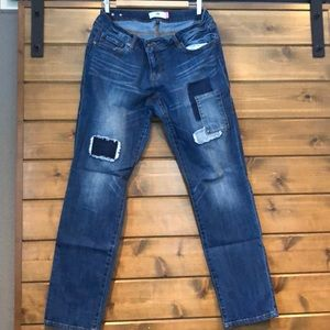 Cabi slim boyfriend jeans